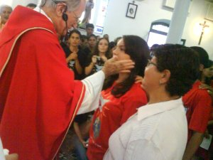 A tapa na face - maturidade cristã!